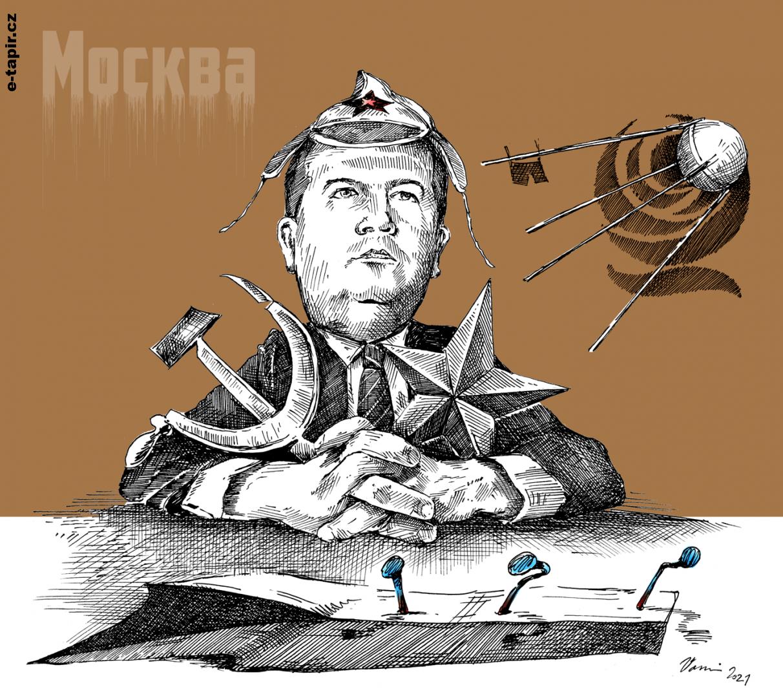 Hamáček Sputnik kolor-78107873