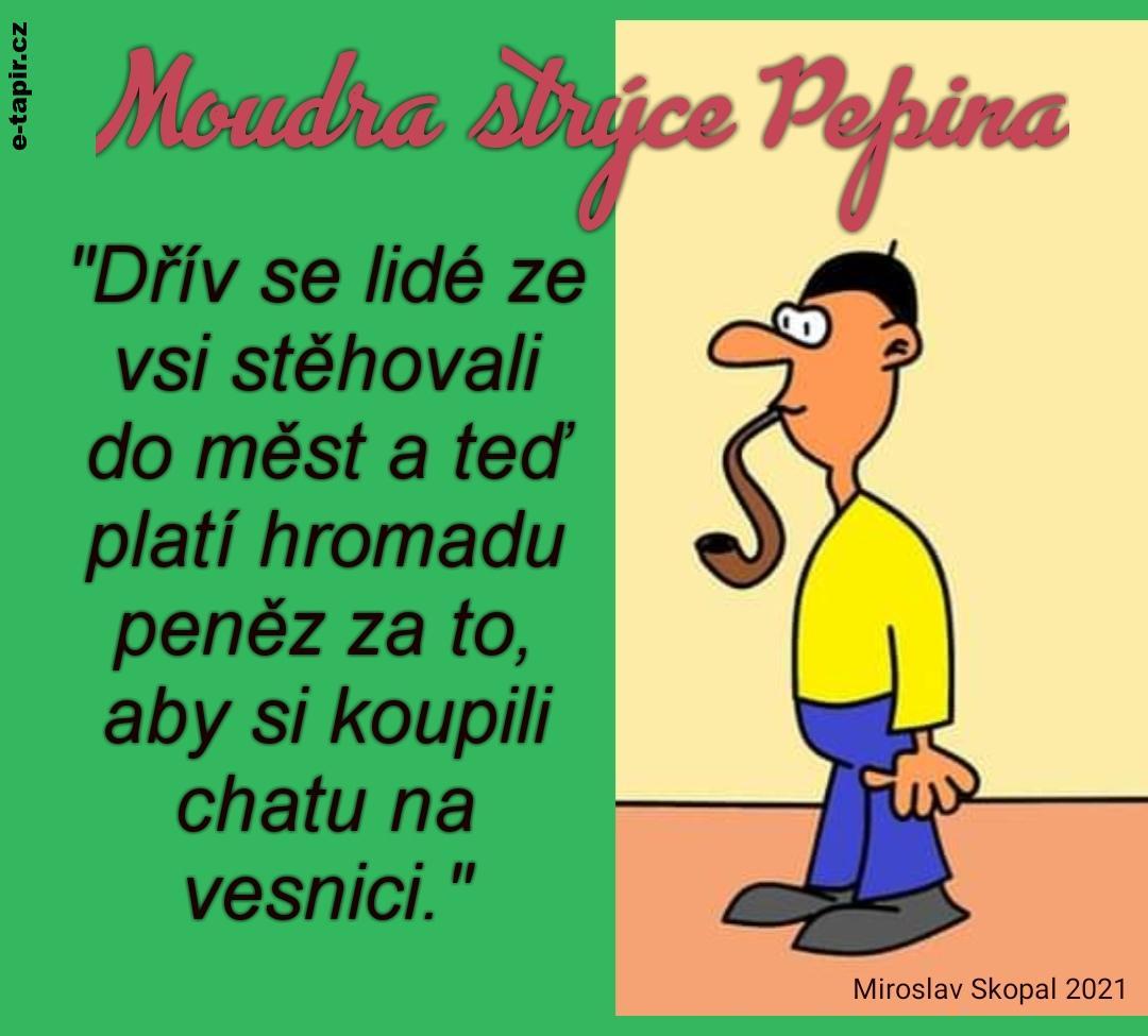 Miroslav Skopal 2021 Moudra strýce Pepina